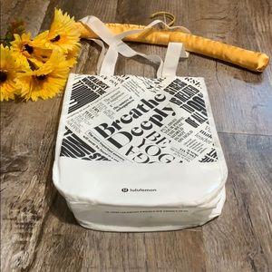 Lululemon Bags - Lululemon  | Breathe Deeply Reusable Earthwise Bag